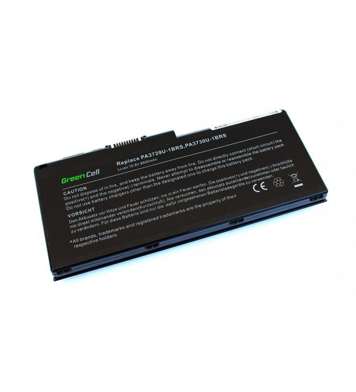 Baterie extinsa Toshiba Qosmio G60 G65 G65W series cu 12 celule li-ion 8800mah