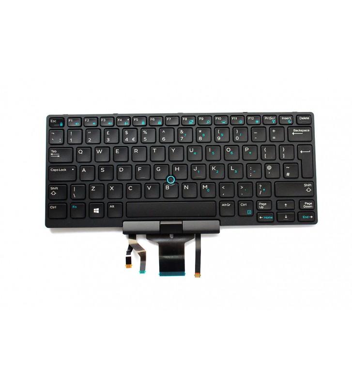 Tastatura originala Dell Latitude 5490 5491 5495 iluminata cu rama