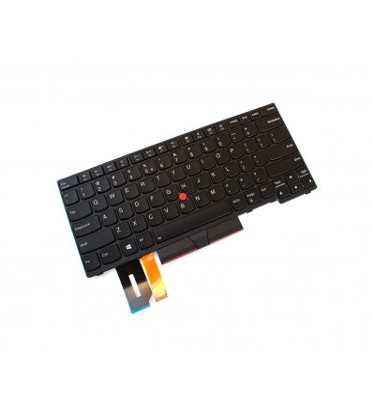 Tastatura originala Lenovo Thinkpad T490 T495 cu iluminare