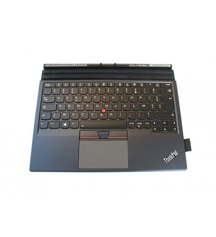 Tastatura Lenovo Thinkpad X1 Tablet Thin Keyboard Gen 2 01AY112 Azerty cu iluminare
