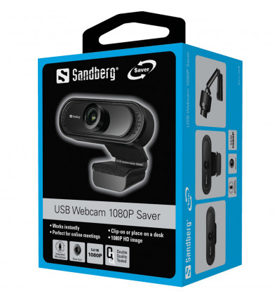 Webcam camera web Sandberg Full HD 1920x1080 USB microfon 30fps 333-96