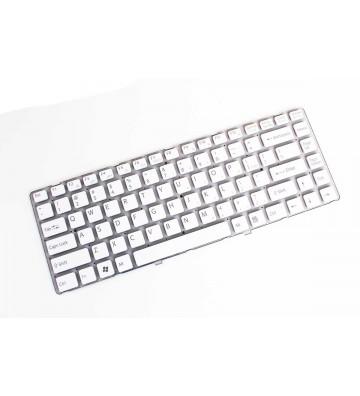 Tastatura laptop Sony Vaio VGN NW150 alba