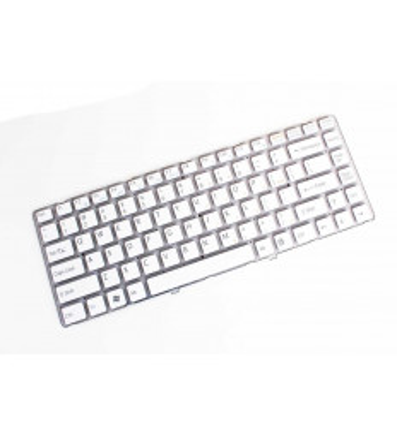 Tastatura laptop Sony Vaio VGN NW135 alba