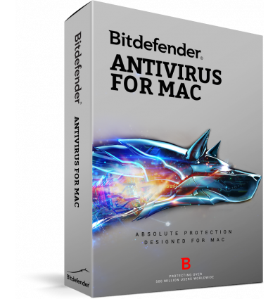 Bitdefender Antivirus for Mac, 1 an, 3 utilizatori