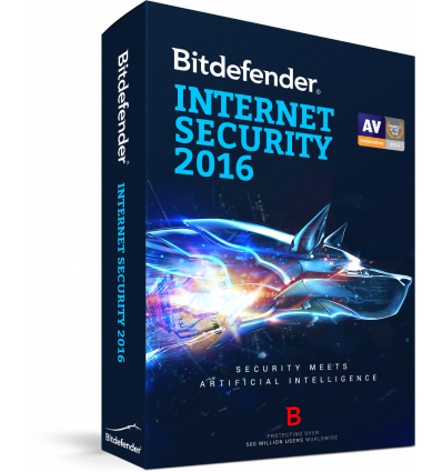 Bitdefender Internet Security 2016, 1 an, 10 utilizatori