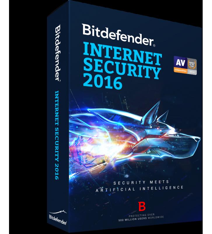 Bitdefender Internet Security 2016, 3 ani, 10 utilizatori