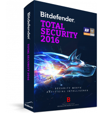 Bitdefender Total Security 2016, 1 an, 10 utilizatori