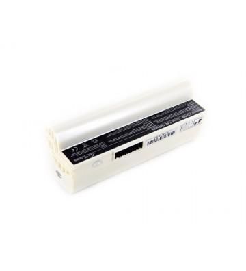 Baterie Asus EEE PC 701SDX alba cu 8 celule 10400mAh